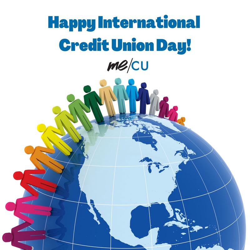 Happy International Credit Union Day!
