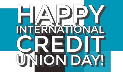 Happy Credit Union Day logo