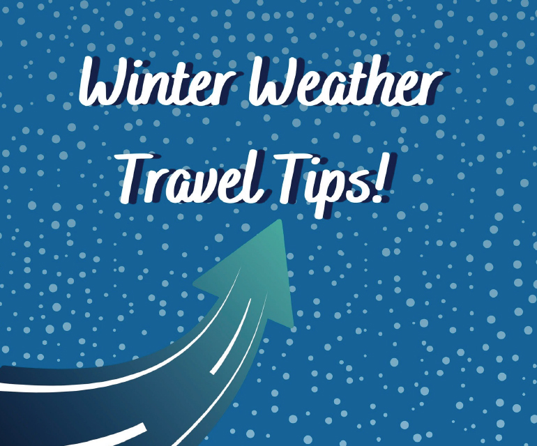 Winter weather travel tips