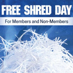 Free shred day event information