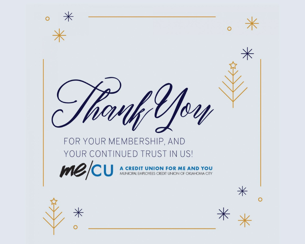 Thank You for your membership and your continued trust in us