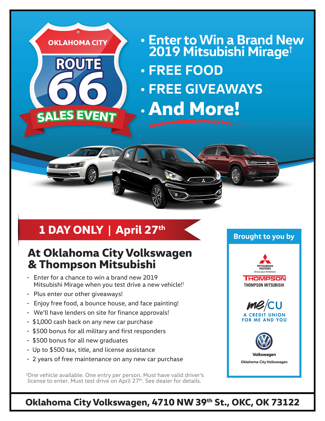 Sales Event Flyer