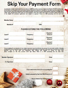 Screen image of the form to download