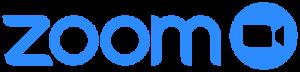 Zoom Meeting Logo in blue