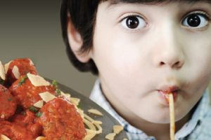 MECU Spaghettit dinner advertisement